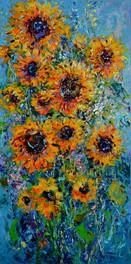 Shimmering Sunflowers