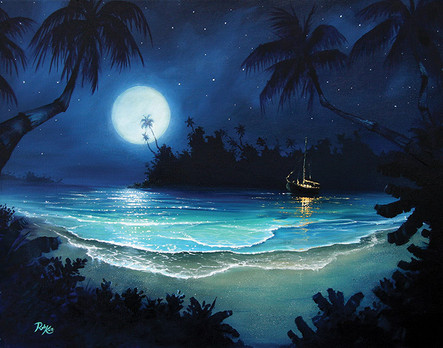 Moonlight Lagoon
