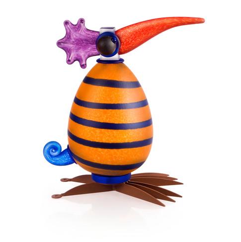 Gonzo I Orange with stripes