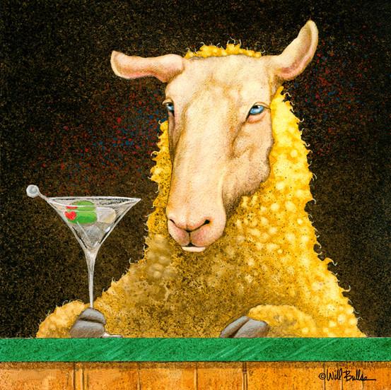 Sheep Faced on Martini