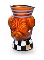 Animalia Dog Vase