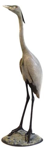 Heron On Sand