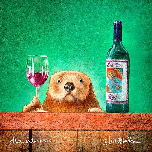 Otter Into Wine