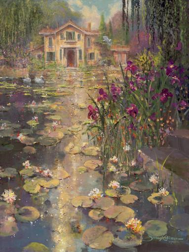 Irises and Lillies