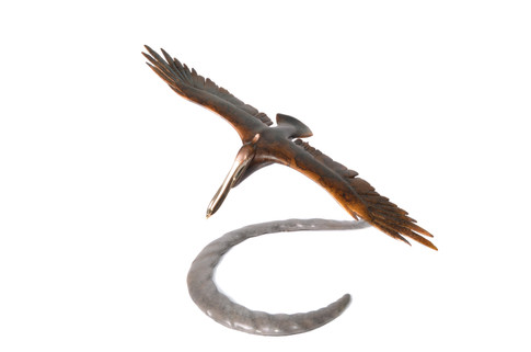 Large Open Wing Pelican