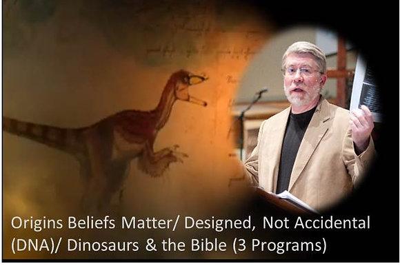 DNA: Designed, Not Accidental(3 episodes on DVD)
