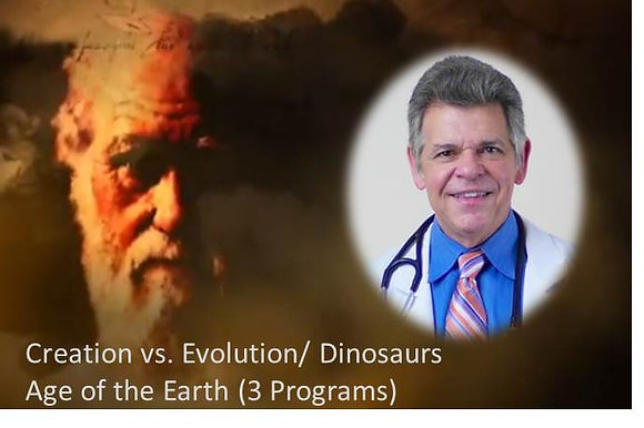 Creation vs. Evolution (3 episodes on DVD)