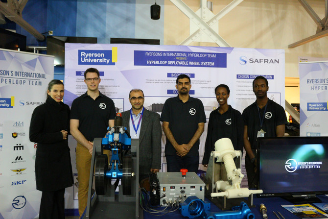 RIHT presents at FIRST Robotics, meets Federal Minister of Science, the Hon. Kirsty Duncan