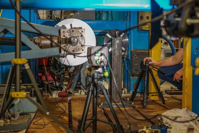 Testing on the Hyperloop Deployable Wheel System has Begun!