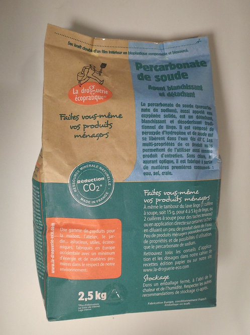 Percarbonate de soude - 2.5 kg
