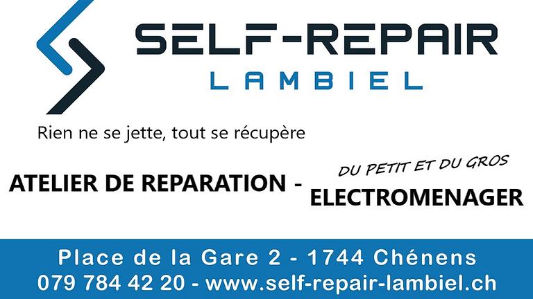 ATELIER - Petit Electroménagers - 1h30