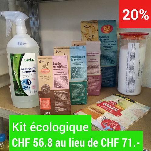 Kit écologique  - 7 produits  : 20%