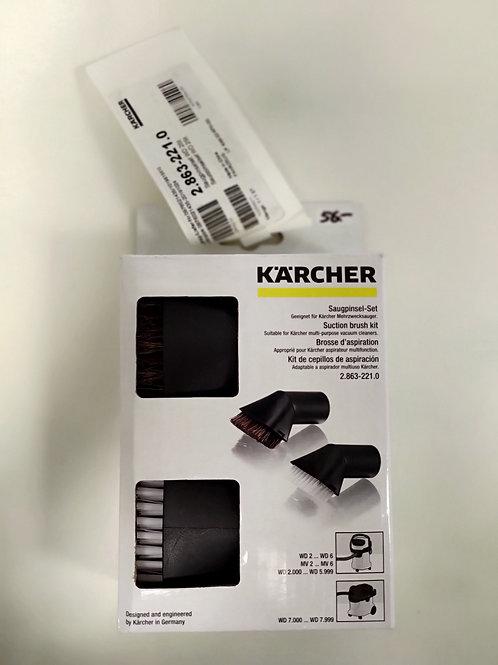 Brosses d'aspiration - Kärcher - lot 2 pièces