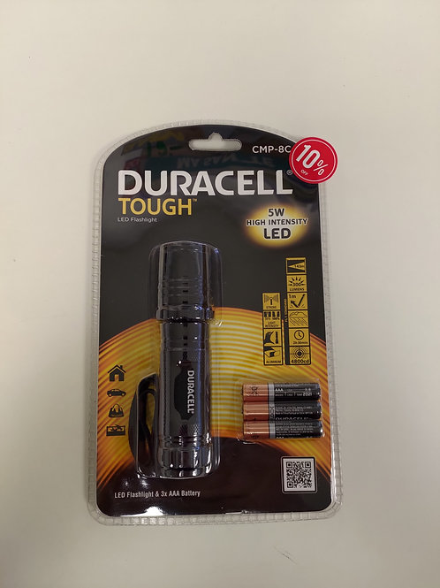 Lampe Duracell - 5W High intensity LED