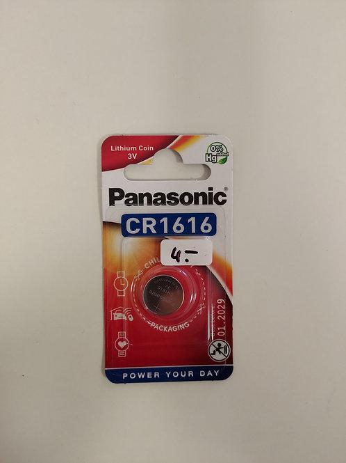 Pile bouton Panasonic - 3V - CR1616 - lot 1 pièce