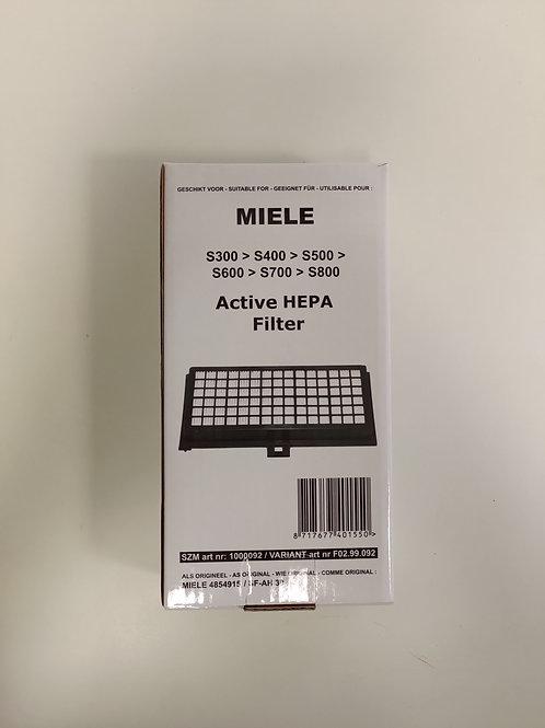 Filtre d'aspirateur - Miele - SF AH30 -S300/S400/S500/... - lot 2 pièces : 10%