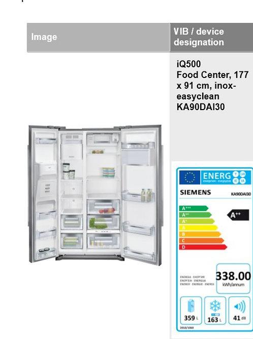 Frigo-Américain Siemens_Inox easy Clean_177x91x72cm