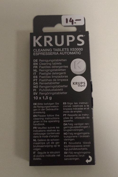 Tablette nettoyante machine à café - nettoye passage café - dégraissant