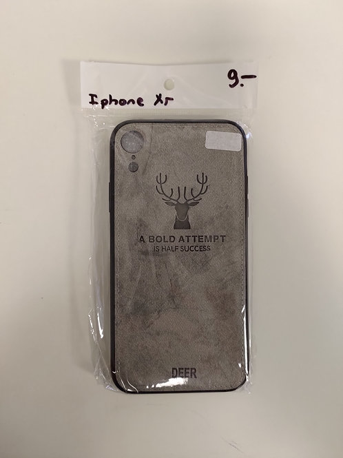 Protection Iphone XR - respirable -gris