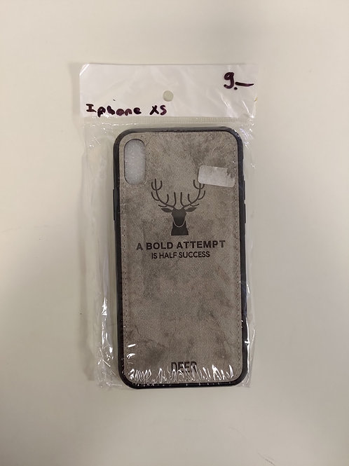 Protection Iphone XS - respirable -gris