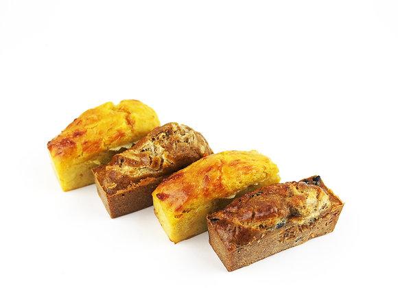 Mini cakes salés x10