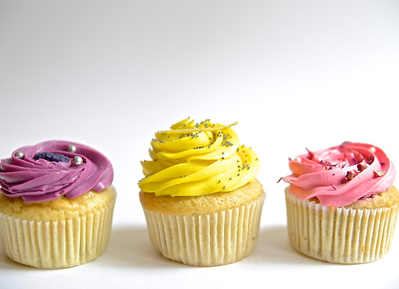 Box de Cupcakes Citron