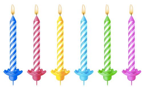 Bougie Anniversaire bougie d'anniversaire