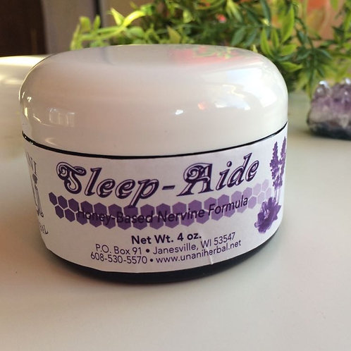 Sleep Aide: Honey Based Nervine Formula