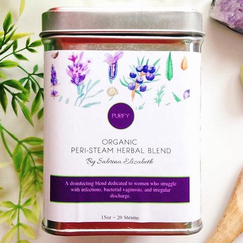 Peri-Steam Vaginal Steam Herbal Blend: PURIFY
