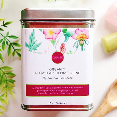 Peri-Steam Vaginal Steam Herbal Blend: CLEANSE