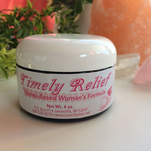 Timely Relief: Honey-Based Women's Formula