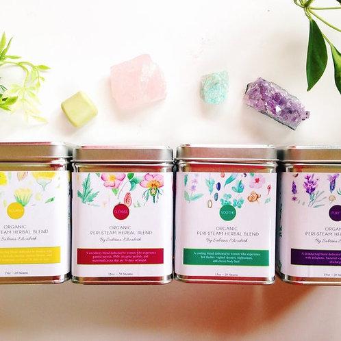 Peri-Steam Herbal Blends: 12 Pack Case
