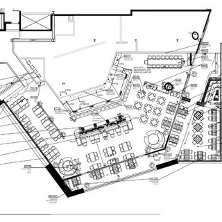 Polanco Cantina, Furniture Plan