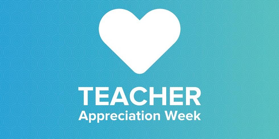 Staff Appreciation Week 5/3-5/7!
