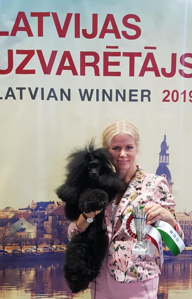 Kajsa Lettisk vinnare 2019 och champion