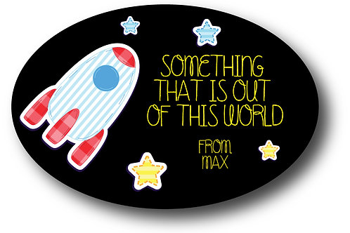 Out of This World Gift Stickers