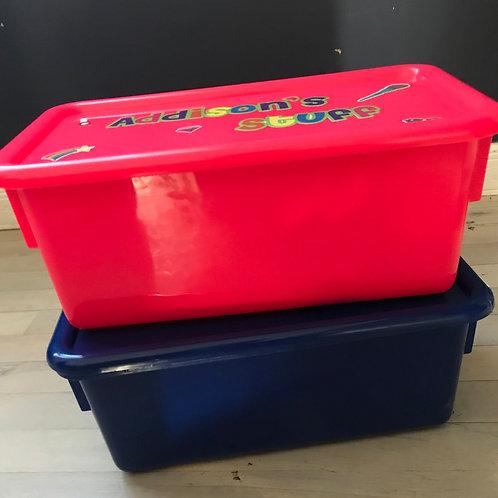 Shoe Box-Sized Storage Box