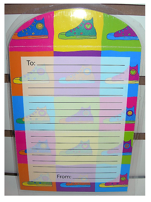 Sneaker Fold-over Stationery