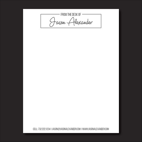 Business / Personal Notepad - 3 pack