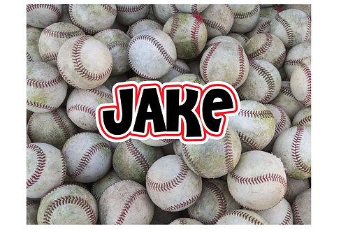 Baseballs Stationery