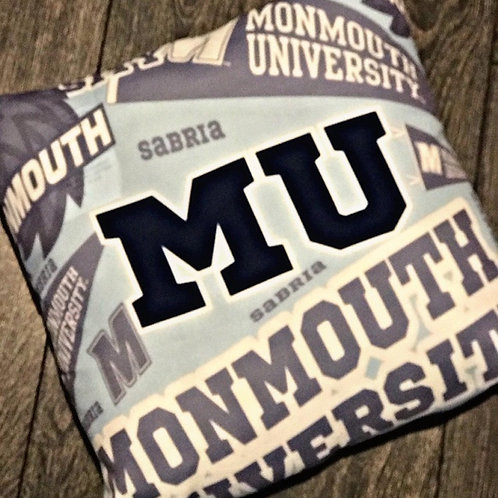 College Throw Pillow Personalized!