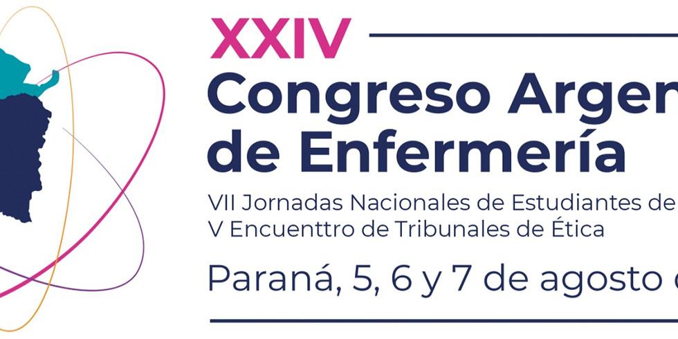 XXIV Congreso Argentino de Enfermería