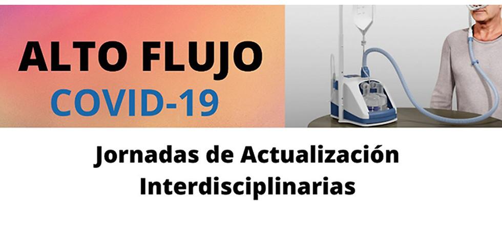 Alto Flujo COVID 19: Jornadas de actualización interdisciplinarias
