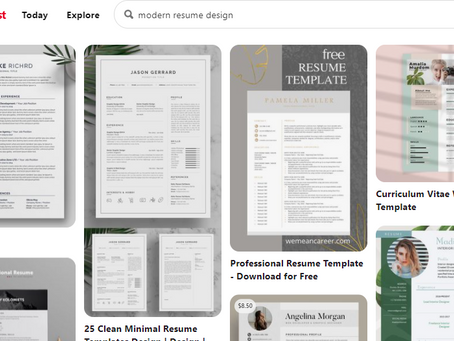 How I Made My Resume More Visually Appealing