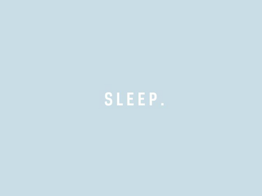 Act like an adult but sleep like a baby