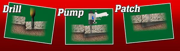 3-step Poly Foam Lifting Image