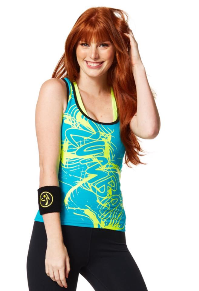 Bright Coloured Zumba Tops