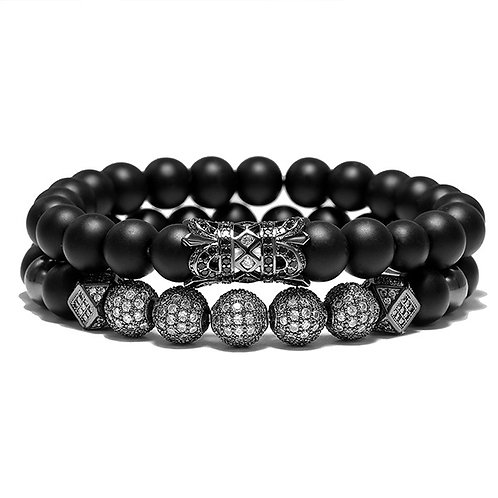 CRYSTAL STACK BLACK
