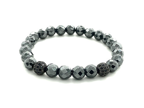 POLY BEADS BLACK