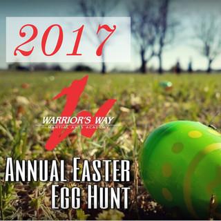 2017 Annual Easter Egg Hunt
